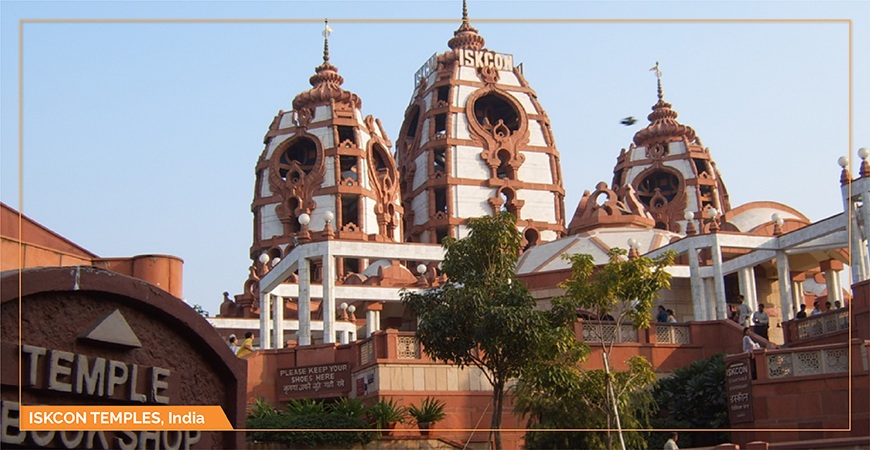 TOP ISKCON TEMPLES IN INDIA